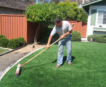 artificial turf backyard. Artificial Turf Cleaner Backyard