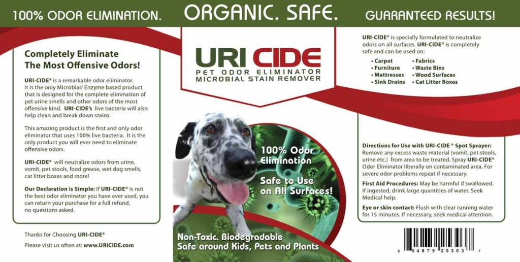 Pet Odor Eliminator and Stain Remover