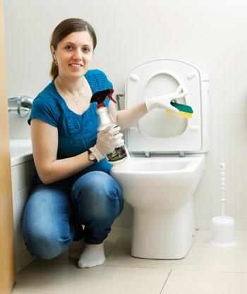 remove toilet odors